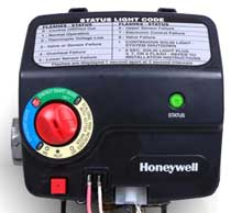 honeywell gas control valve