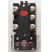 water heater reset button