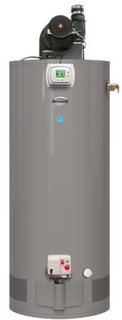 richmond power vent water heater