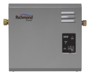 richmond tankless electric