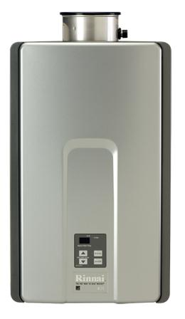 rinnai water heater and temp. controller