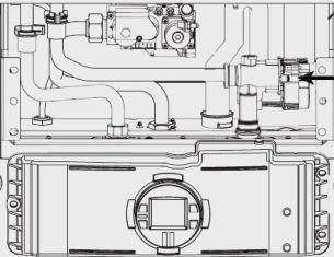 Water valve on Bosch C1050ES