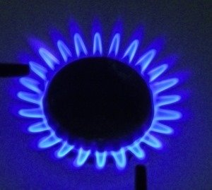 Blue Gas Flame