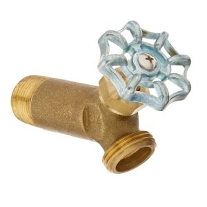 brass drain valve for water heaters