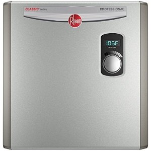 Rheem RTEX tankless and electric water heater