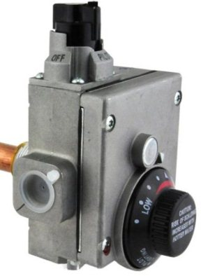 robertshaw gas control valve and thermostat
