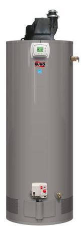 Ruud gas water heater