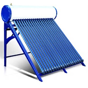 Solar water heater - evacuated tubes