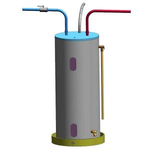 Electric tank-type water heater