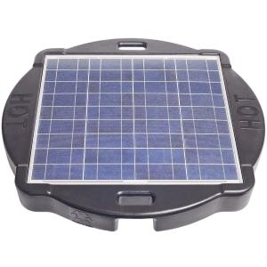 Floating solar panel