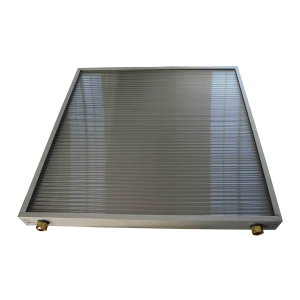 Solar panel for water heating