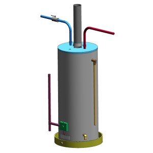 Gas tank-type water heater