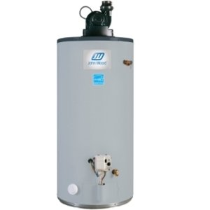 John Wood Power vent gas water heater