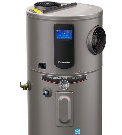 Rheem heat pump water heater - hybrid