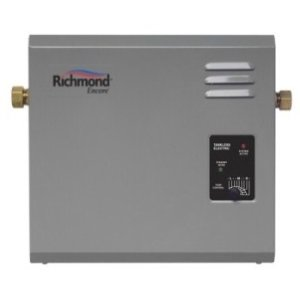 Richmond electric and tankless water heater